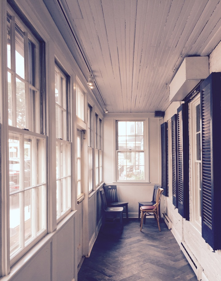 onthresholds_enclosed porch New Market