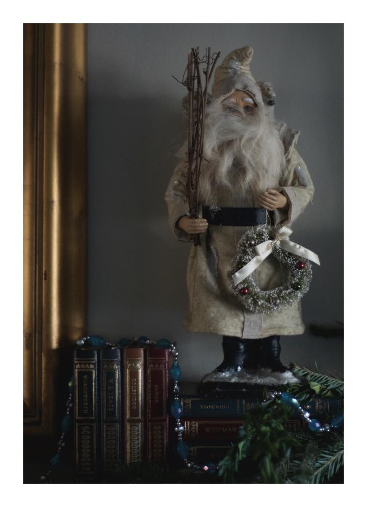 Onthesholds_woodland santa on mantel_IMG_0167